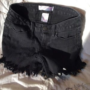 NoBo cut offs  shorts cot/poly/spandex size 1